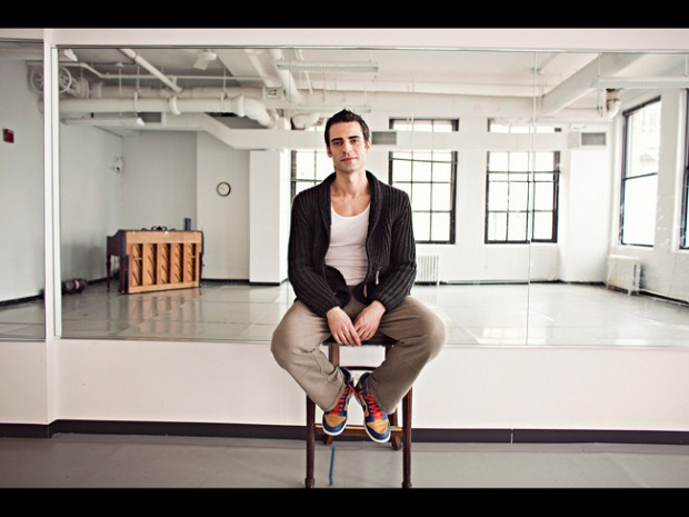Gustavo Ramirez Sansano, artistic director of the Luna Negra Dance Theater.