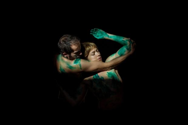 Daniel Abreu y Pilar Andrés en `Venere´. © Virginia Rota