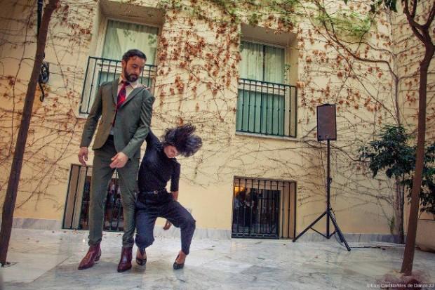 `Welcome back, Walter´, de Teresa Navarrete y Miguel Marín, en el Hotel Petit Palace de Santa Cruz. © Luis Castilla