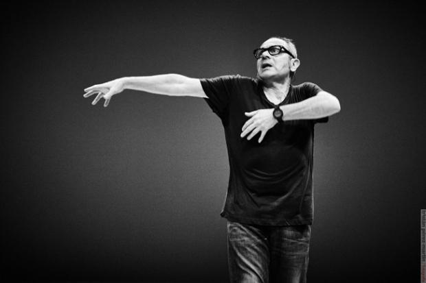 `Una conferencia bailada: tendencias actuales´. © Tristán Pérez-Martín